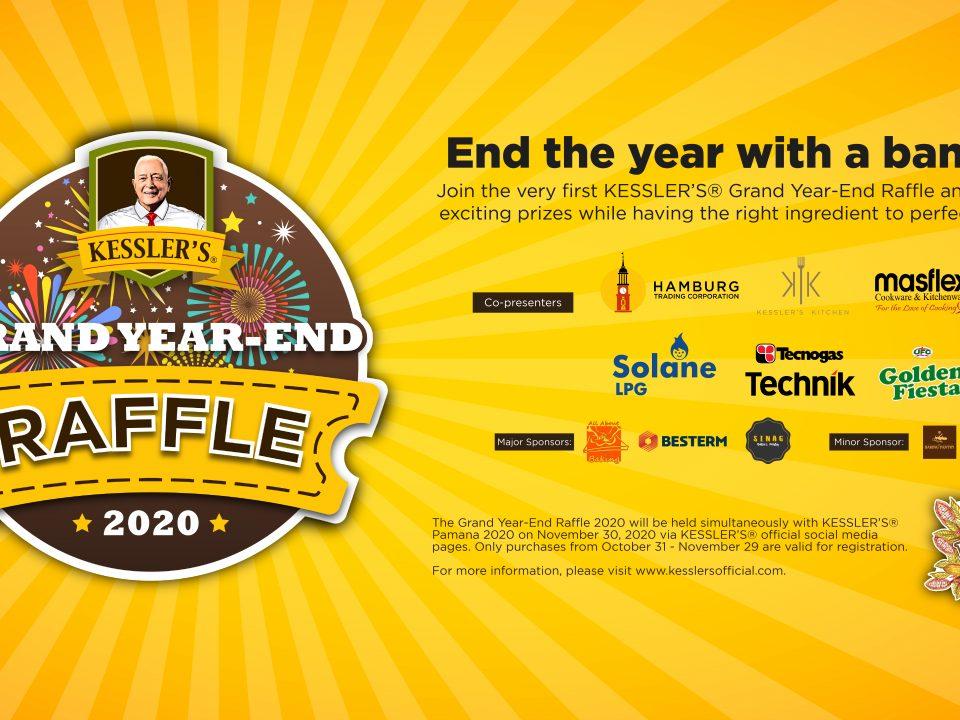 Kessler's Grand Year-End Raffle 2020 Poster